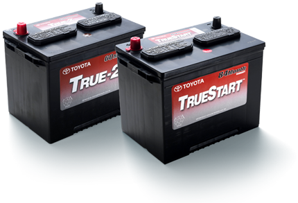 Two TrueStart Batteries